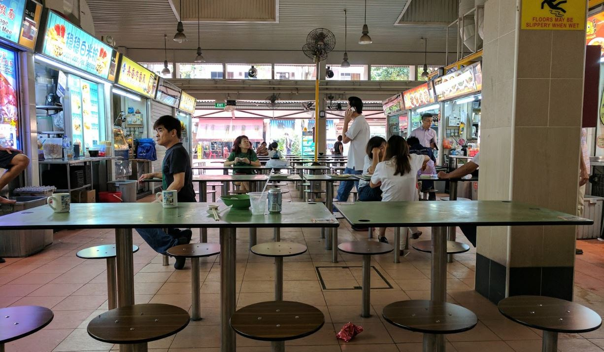 Changi Village Hawker Centre in Singapore