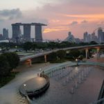 Marina Barrage in Singapore
