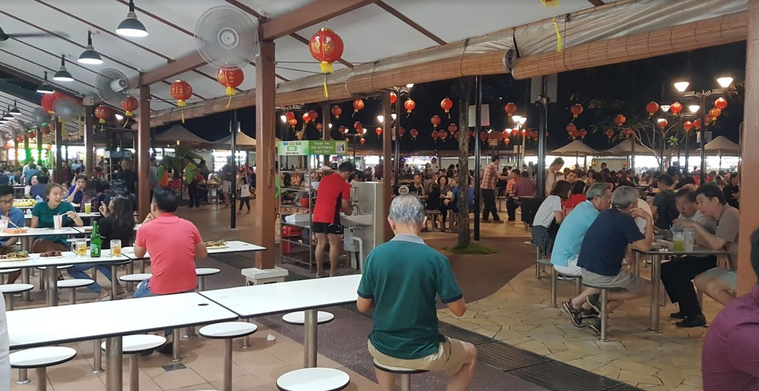 Newton Food Centre or Newton Circus Hawker in Singapore