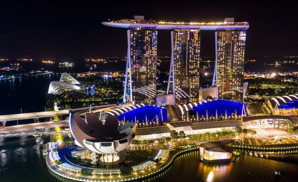Marina Bay Sands Integrated Resort in Singapore